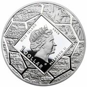 1 Dollar - Elizabeth II (Gdansk) -  avers