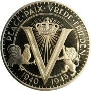 50 Cents - Elizabeth II (75 ans de paix et de liberté) – revers