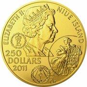 250 Dollars (Jan Amos Komensky) -  avers