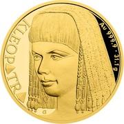 50 Dollars - Elizabeth II (Cleopatra) -  avers