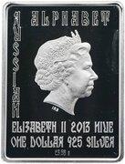 1 Dollar - Elizabeth II (Letter Б) -  avers