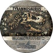 5 Cents - Elizabeth II (Tyrannosaurus) – revers