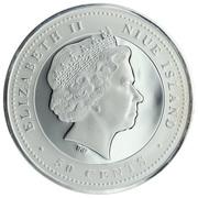 50 Cents - Elizabeth II (Jumping) – avers