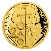 5 Dollars - Elizabeth II (John Dee) -  avers