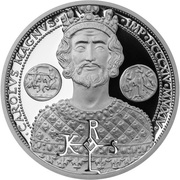 50 Cents - Elizabeth II (Charlemagne) – revers