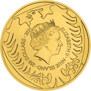 250 Dollars - Elizabeth II (Czech Lion) -  avers