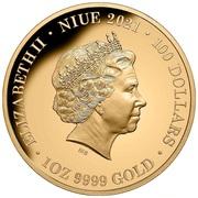 100 Dollars - Elizabeth II (Diana Princess of Wales) -  avers