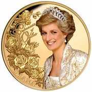 100 Dollars - Elizabeth II (Diana Princess of Wales) -  revers