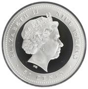 50 Cents - Elizabeth II (Equestrian) – avers