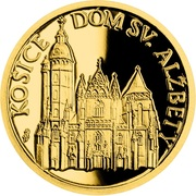 5 Dollars - Elizabeth II (St. Elisabeth's Cathedral) -  avers