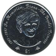 1 dollar (Diana) – revers