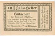 10 Heller (Nöchling ) -  avers