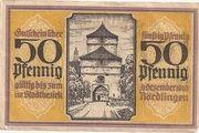 50 Pfennig (Nördlingen) – revers