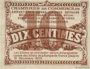 10 centimes - Chambres de Commerce du Nord [59] et du Pas-de-Calais [62] – revers