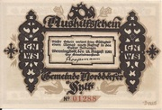 50 Pfennig (Norddörfer) – avers