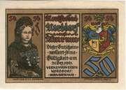 50 Pfennig (Nordseebad Norddorf auf Amrum) – avers