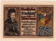75 Pfennig (Verkehrsverein) – avers