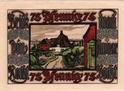 75 Pfennig (Verkehrsverein) – revers