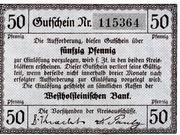 50 Pfennig (Norder- und Süder-Dithmarschen) – avers