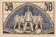50 Pfennig (Norder-Dithmarschen) – revers