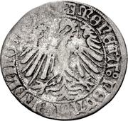 1 Halbschilling - Maximilian I. – avers