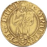 1 Goldgulden - Friedrich III. von Habsburg – avers