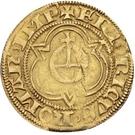 1 Goldgulden - Friedrich III. von Habsburg – revers