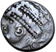 Tetradrachm - East Noricum (Brezelohr A Type) – avers