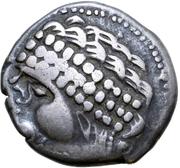 Tetradrachm - East Noricum (Augen-StammA Type) – avers