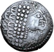 Tetradrachm - East Noricum (Augen-Stamm Type) – avers