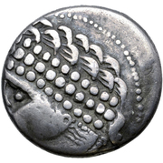 Tetradrachm (Verschwommener Type) – avers