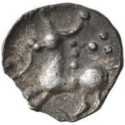 """¼ Quinarius (""""Roseldorf III"""" type) – revers"""
