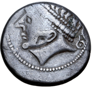 Tetradrachm - West Noricum (Adnamati Type) – avers