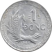 1 dong (Viêt Nam Nord) – revers