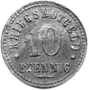 10 pfennig - Northeim – revers