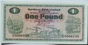 1 Pound (Northern Bank) – avers