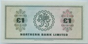 1 Pound (Northern Bank) – revers