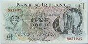 1 Pound (Bank of Ireland) – avers