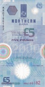 5 Pounds (Northern Bank) – avers