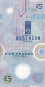 5 Pounds (Northern Bank) – revers