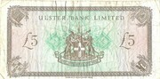 5 pound (Bank of Ulster) – revers