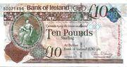 10 Pounds (Bank of Ireland) – avers