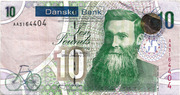10 Pounds (Danske Bank) – avers