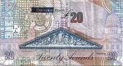20 Pounds (Danske Bank) – revers