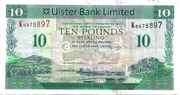 10 Pounds (Ulster Bank) – avers