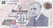 £20 Northern Bank – avers