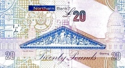 £20 Northern Bank – revers