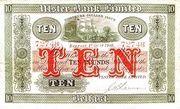 10 Pounds (Northern Ireland) – avers