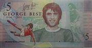 George Best £5 – revers