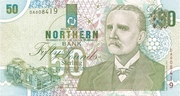 50 Pounds (Northern Bank) – avers